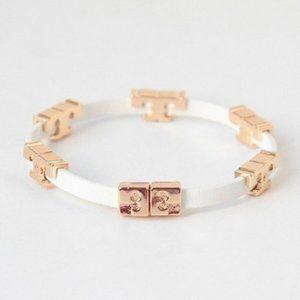 Tory Burch Serif-T Single Wrap Bracelet